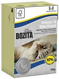 Bozita Indoor & Sterilised Wet Food 190g