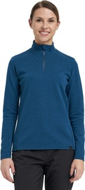Audimas Merino Wool Mix Jumper Blue L