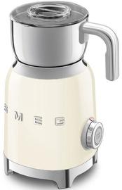 Smeg Retro Milk Frother MFF01CREU Cream