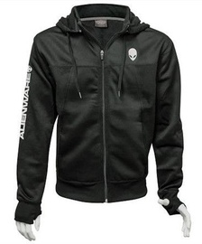Alienware Poly-Tech Zip Hoodie Black L
