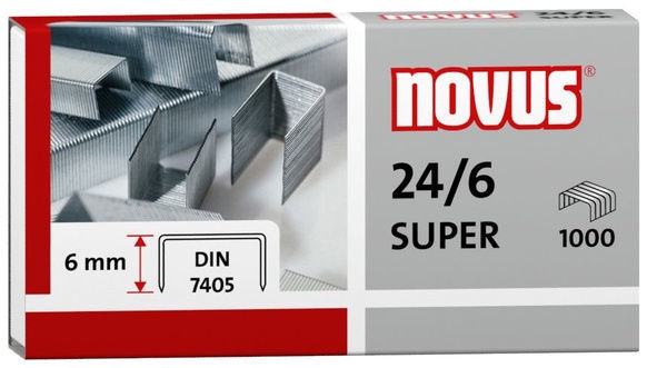 Novus Staples 1000pcs Nr.24/6