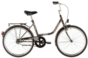 "Jalgratas Kenzel Loreta, pruun, 18"", 24"""