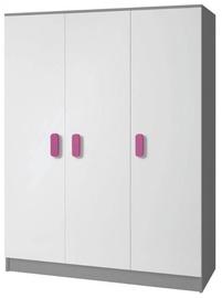 Idzczak Meble Smyk II 19 Wardrobe Grey/Pink