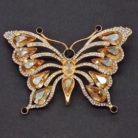 Diamond Sky Brooch Fairy Moth II With Swarovski Crystals