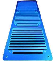 AC Ryan RadGrillz 3x120mm Acryl UV Blue