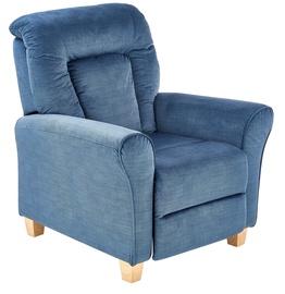 Кресло Halmar Bards Dark Blue, 90x90x102 см