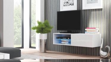 Seinakapp Livo RTV 120W, valge, 120 x 40 x 30 cm