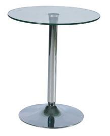 Baarilaud Signal Meble B100 Glass, 600x600x720 mm