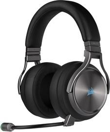 Kõrvaklapid Corsair Virtuoso RGB Wireless SE Black, juhtmevabad