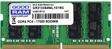 GoodRam 8GB 2133MHz CL15 DDR4 SODIMM GR2133S464L15S/8G