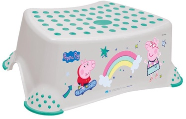 Keeeper Baby Step Stool Peppa Pig Soft Gray