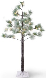 DecoKing LED Decoration Tree Snowy Pine 1m