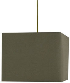 Candellux Basic Hanging Ceiling Lamp 60W E27 Brown