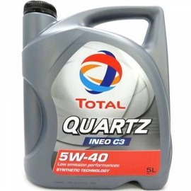 Total Quartz INEO C3 5W40 Motor Oil 5l