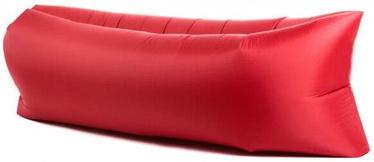 Täispuhutav diivan Lazy Bag, punane