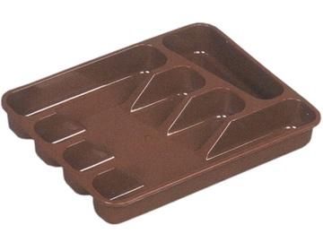 Keeeper Cutlery Tray 33.5x26.5x5cm Brown