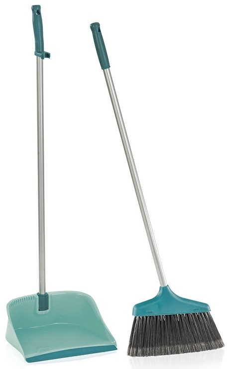 Leifheit Set with Handle and Open Dust Pan