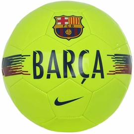 Nike FC Barcelona Supporters Ball Green Size 4