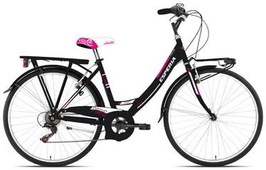 """Jalgratas Esperia Mono 2100, must/roosa, 18"""", 26"""""""