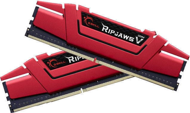 G.SKILL RipJawsV 16GB 2666MHz CL15 DDR4 KIT OF 2 F4-2666C15D-16GVR