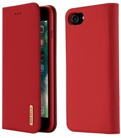 Dux Ducis Wish Bookcase For Apple iPhone 7/8 Red
