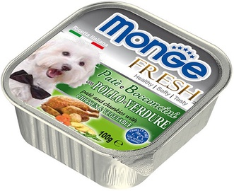 Monge Fresh Chunkies With Chicken/Vegetable 100g