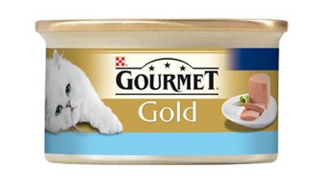 Kassikonserv Gourmet Gold tuunikala, 85g