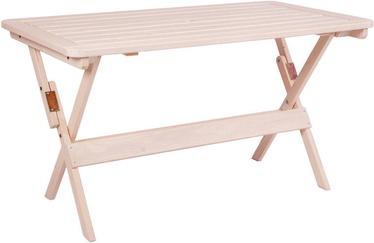 Aialaud Folkland Timber Heini-2 White, 70 x 70 x 73 cm