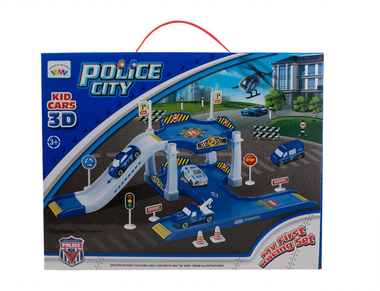 SN My First Racing Set Police 513120942