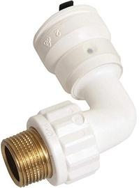 """Henco Elbow Pipe Push-Fitting 1/2""""M 20mm"""