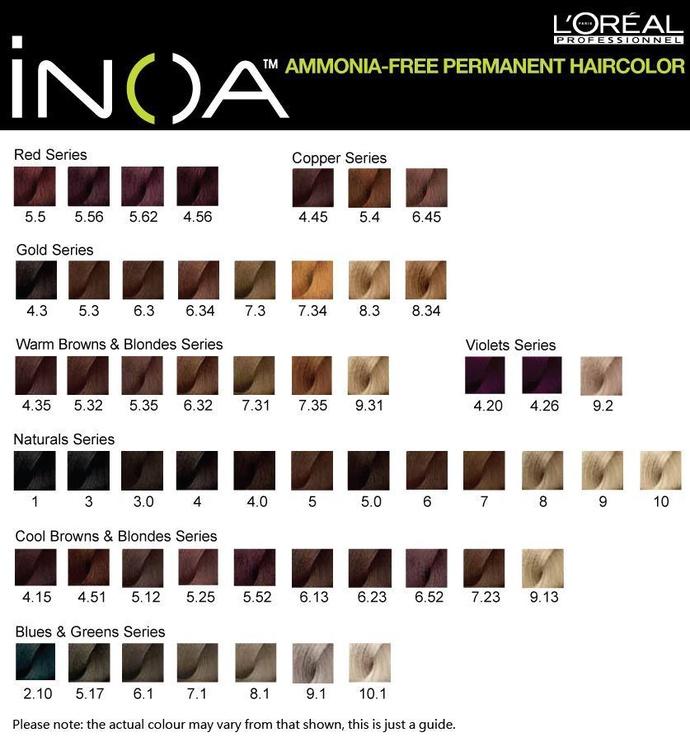 L`Oréal Professionnel Inoa Hair Colour 60ml 2.10