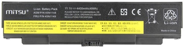 Mitsu Battery For Lenovo T440p/W540 4400mAh