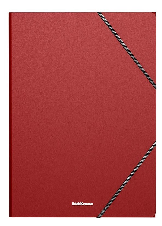 ErichKrause Classic Coolbox Folders With Elastic Band Red