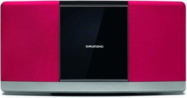 Grundig WMS 3000 Hi-Fi System Red