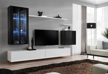 ASM Switch XII Wall Unit White/Black