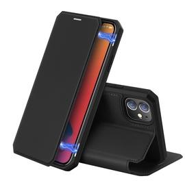 Dux Ducis Skin X Bookcase For Apple iPhone 12/12 Pro Black