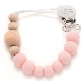Loulou Lollipop Pacifier Clip Delicate Pink