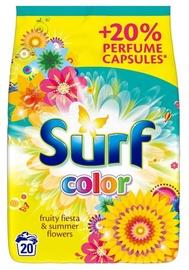 Стиральный порошок Surf Color Fruity Fiesta & Summer Flowers, 1.3 кг