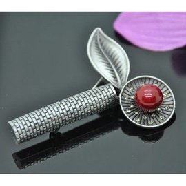 Vincento Brooch With Zirconium Crystal LD-1149