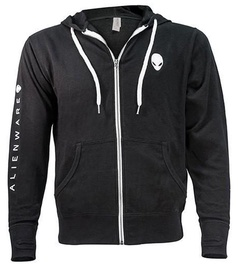 Alienware Heather French Terry Zip Hoodie Black L