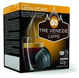 Cafee Tre Venezie Leon D'Oro komposteeritavad kohvikapslid, 16 kapslit