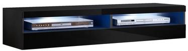 ТВ стол ASM RTV Fly 35 Black, 1600x400x300 мм