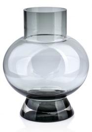 Ваза Mondex Serenite, серый, 220 мм