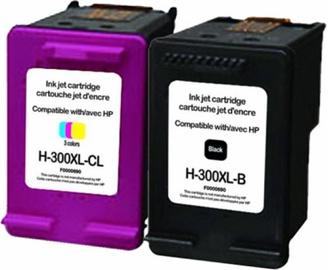 Uprint Cartridge for HP Black 20ml Yellow 21ml Magenta 21ml Cyan 21ml