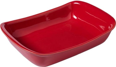 Pyrex Supreme Ceramic Roaster Red 33x23cm