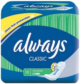 Always Classic Standard Pads 10pcs