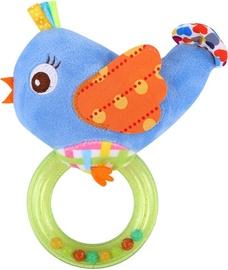 Lorelli Rattle With Ring Bird Blue