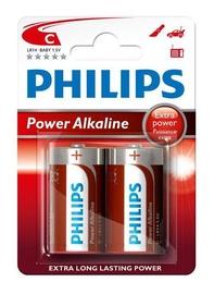 Philips LR14P2B/10 Alkaline Battery 2x