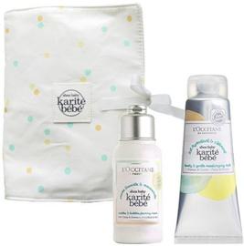 L´Occitane Shea Baby Cuddles & Bubbles Foaming Cream 75ml + 75ml Lovely & Gentle Moisturising Milk