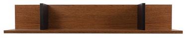Black Red White Madison Hanging Shelf 95x20x17cm Brown Oak